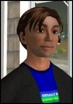 Benjamin Duranske's Second Life Avatar 'Benjamin Noble'